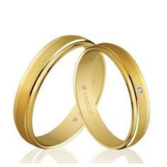 Alianzas de boda Oro 1ª Ley 18Kts. amarillo 4mm Argyor ref.5140044 18K