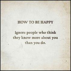 Truly true!