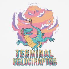 Blue Banana Terminal Velociraptor