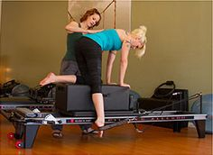Pilates stabilization for broken pelvis. THIS is why I teach Pilates! It is an amazing exercise.