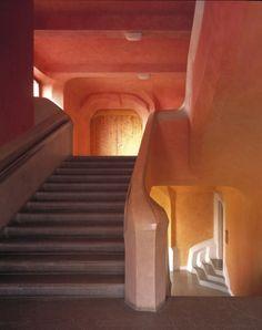 Südtreppenhaus / Rudolf Steiner / Zweiten Goetheanum
