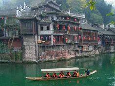 Zhenyuan Ancient Town, China