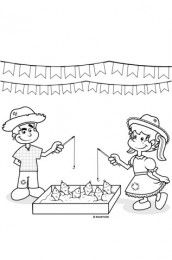 desenho barraca festa junina prendas - Pesquisa Google