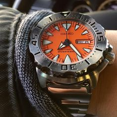 Seiko Orange Monster SRP309 – a solid, inexpensive dive watch that's an homage of nothing.