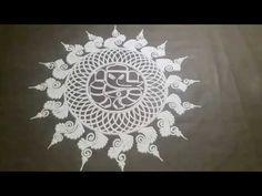 Latest Sanskar Bharti Rangoli Design | Ganpati Rangoli | Ganesh rangoli | 2020 - YouTube Rangoli Borders, Rangoli Border Designs, Colorful Rangoli Designs, Sanskar Bharti Rangoli Designs, Ganesha Rangoli, Rangoli Designs For Competition, Special Rangoli, New Year Special, Diwali