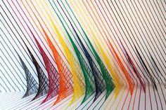 """Bindings"" Adhesive Installations by Rebecca Ward « ArtStormer"