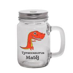 Super dárek pro děti, jméno si samozřejmě přepište Mason Jars, Mugs, Tableware, Dinnerware, Tumblers, Tablewares, Mason Jar, Mug, Dishes