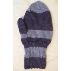 Free Knitting Pattern. Manly Mittens Pattern
