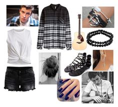 """Shawn mendes!"" by musicmelody1 ❤ liked on Polyvore featuring H&M, VILA, 1928 and Lottie"