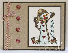 Inspiration Blooms: Snowman Card Trio