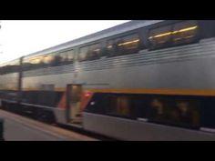 TRAINS TO SAN JOSE & BAKERSFIELD. MARTINEZ, CA. AMTRAK. TGFP. EP. # 1208.