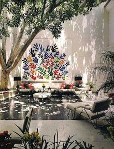Design Focus: Brody House Matisse Mural