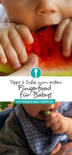 Ab wann darf mein Baby Fingerfood bekommen? Und welche Lebensmittel sind als erstes Fingerfood geeignet?