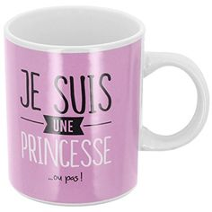 Promobo -Mug Tasse A Café Collection Je Suis Une Princesse 300ml