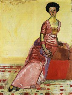Ferdinand Hodler (1853-1918): Bildnis Gertrud Müller, 1911, Kunstmuseum Solothurn,