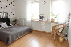 Wnętrza Zewnętrza: Nasza wielka sypialnia