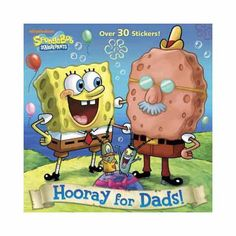 Boys and girls will find out if Nickelodeon's SpongeBob SquarePants has the best father in Bikini Bottom! Includes over 30 stickers.