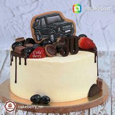 18 Super Ideas Cupcakes Cakes For Men Birthday Cakes For Men, Birthday Cupcakes, Cake Recipes For Kids, Cake Mix Recipes, Cupcake Recipes, Fondant Cakes, Cupcake Cakes, Birthday Cake Decorating, Birthday Decorations