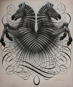 """love this guys artwork and read his story ArtofManliness.com aka """"So You Want My Job: Master Penman"""""""