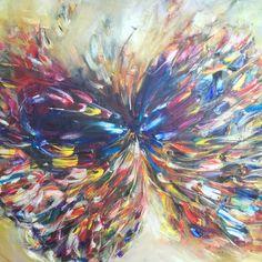 "Saatchi Art Artist: Victoria Horkan; Oil 2014 Painting ""Blue Emporium Fantastica"""