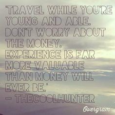 For my travel buddy, @Erin Reynoldson. T-4 days!