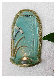 Dragonfly Shelf by rikablue on Etsy, $38.00