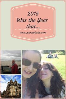 My summary of 2015, a year of highs and lows!