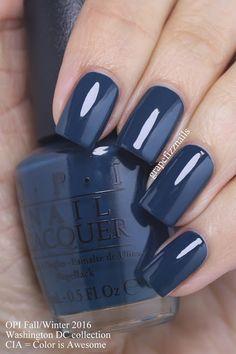 Dark blue nail polish opi sephora coupon 50 off nails bluenail darkbluenail beauty fashion makeup colorfulnail slim fit jeans fr damen Opi Blue Nail Polish, Best Nail Polish, Blue Shellac Nails, Nail Polish Hacks, Fancy Nails, Trendy Nails, Cute Nails, Hair And Nails, My Nails