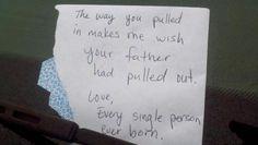 delightfully hostile car note