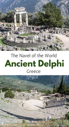Ancient Delphi- The Navel of the World (Blog post, travelyesplease.com) | #Greece #Delphi #AncientDelphi #Archaeological Site #Europe