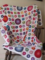 Tutorial come fare coperta a uncinetto con granny con cerchi