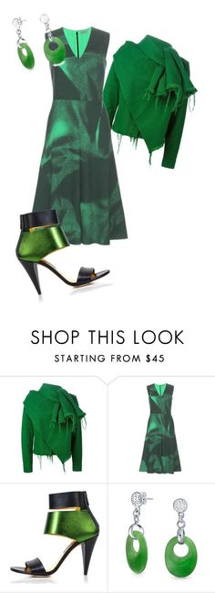 """Untitled #468"" by pholtond on Polyvore featuring Marques'Almeida, Bottega Veneta, Kim Kwang and Bling Jewelry"