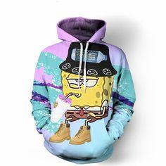 Deadass Spongebob Hoodie
