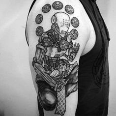 40 Overwatch Tattoo Designs For Men #NeatTattoosIWouldHave