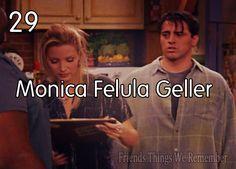Phoebe signing, Monica Felula Geller