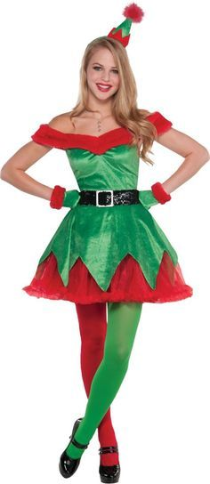 christmas elf costume - Google Search                                                                                                                                                                                 More