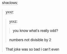 Oddness: