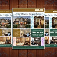 Just Listed Real Estate Marketing Open House Flyer Template Realty - Just listed flyer template