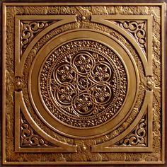 """Decorative Ceiling Tiles, Inc. Store - Steampunk - Faux Tin Ceiling Tile - 24""""x24"""" -"""