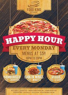 Restaurant Food Promotion Flyer on Behance