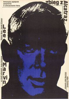 Point Blank (1967) starring Lee Marvin — Polish Film Poster