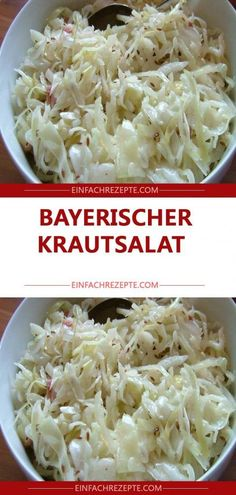 Bayerischer Krautsalat 😍 😍 😍 # Food and Drink menu healthy recipes Healthy Meals To Cook, Healthy Cooking, Healthy Recipes, Quick Easy Meals, Easy Dinner Recipes, New Recipes, Law Carb, Food Staples, Evening Meals