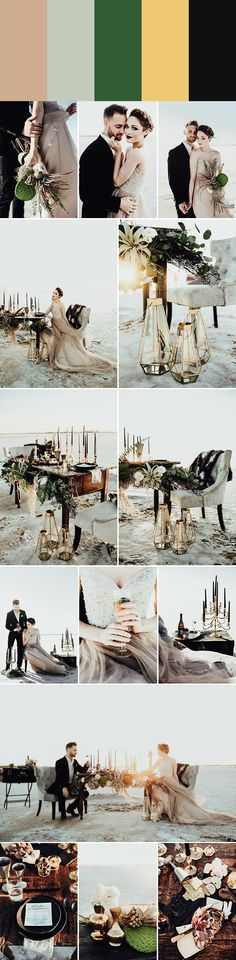 photo by B. Matthews Creative Planning a wedding in the winter months and seeking inspiration for your color palette? Look no further than these winter wed