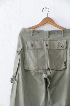 40年代の USMC(米軍海兵隊)の M-44 HBT pants