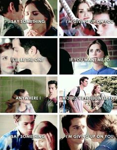 Say Something lyrics Stydia tumblr