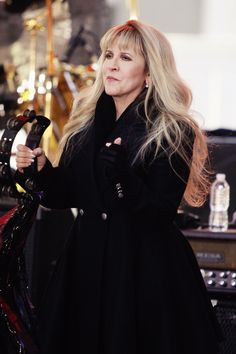 "Stevie on stage at ""The Today Show"" concert in 2014"