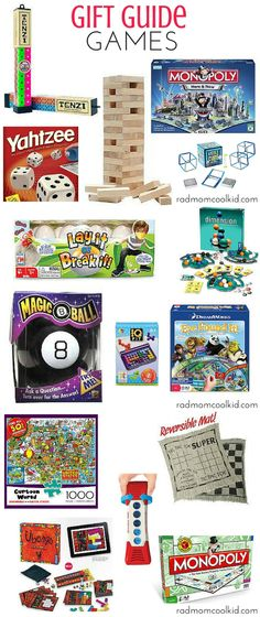 Take a look at some of our favorite games and puzzles! They all make great gifts for holidays and/or birthdays!