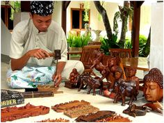 Woodcarving Art Bali, Indonesia #Bali #carving