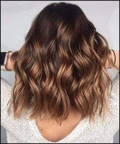 brown hazelnut balayage hair color   -Flair For Hair-   Pinterest ...   Einfache Frisuren