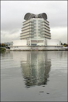 Here's the view of the St David's hotel the architect wanted you to see.